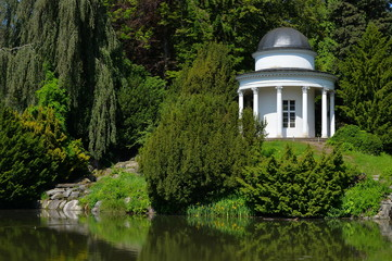 Der Pavillon im Bergpark in Kassel Wilhelmshöhe