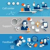 Customer Service Banners - 74367157