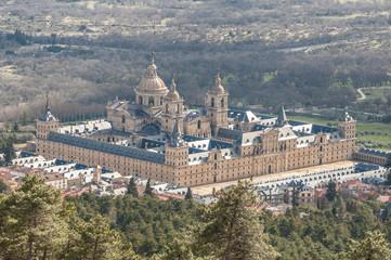 Royal Monastery of San Lorenzo de El Escorial, Madrid (Spain)