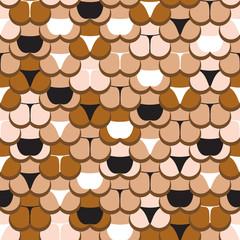 butt in panties pattern