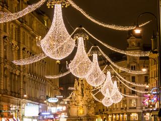 Österreich, Wien. Graben zu Weihnachten