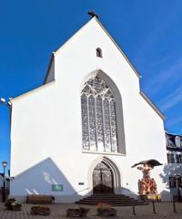 Limburg An Der Lahn city church in Germany view