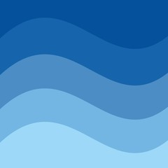 waves background. vector