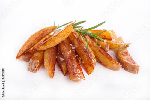 canvas print picture fried potato