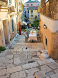 Restaurant invites its guests with warm atmosphere. Corfu. - 74373333
