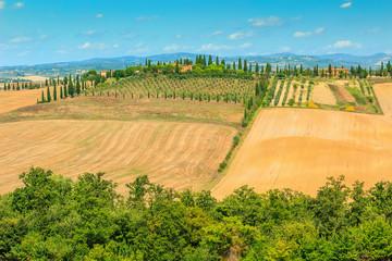 Typical Tuscany landscape,Siena region,Italy,Europe