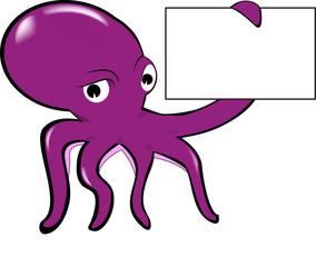 squid and label