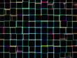 Obrazy na płótnie, fototapety, zdjęcia, fotoobrazy drukowane : Неоновая абстракция 3d куб