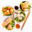 assortment of asia food - 74375147