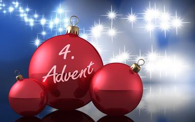 Weihnachtsdeko 4. Advent