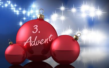 Weihnachtsdeko 3. Advent