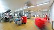 Leinwanddruck Bild - Großfleischerei, Herstellung von Wurstwaren