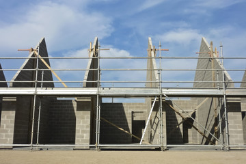 Construction de garages - Gros oeuvre