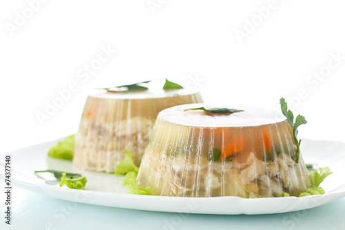 Fototapeta fish in aspic