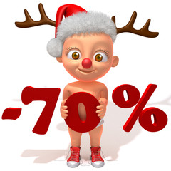 Baby Jake christmas sale 70 percent discount