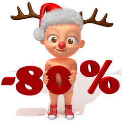 Baby Jake christmas sale 80 percent discount