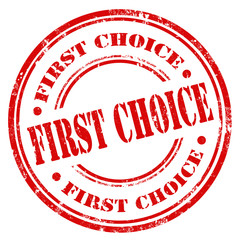 First Choice-stamp
