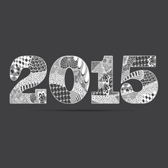 Zentangle - 2015 -blanc