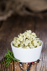 Homemade Herb Butter