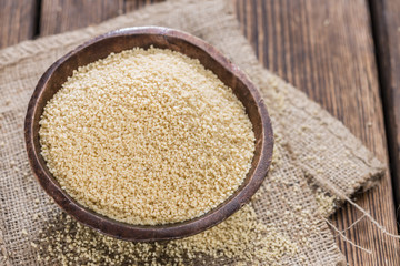 Portion of Couscous