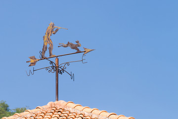 wind indicator on roof