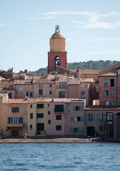 Le clocher de Saint Tropez