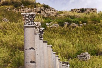 Corinthian Columns at Perga