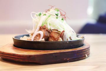 boiled pork roast