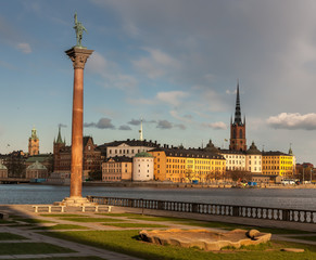 View over the old town in Stockholm, Sweden