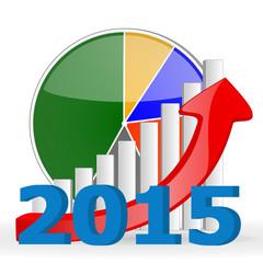 2015 business graph chart
