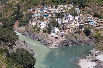 Devprayag, River Ganga. Uttarakhand, India.