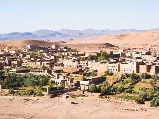 モロッコの街並