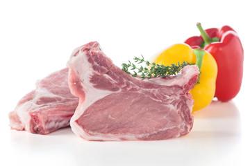 Stielkotelett vom Schwein