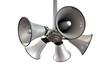 Horn Speakers Hanging View - 74384530