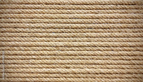 Rough rope background - 74384563