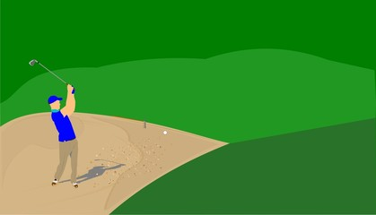 sandtrap hazard
