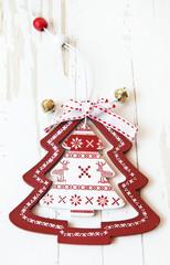 Christmas Tree Wooden Decoration