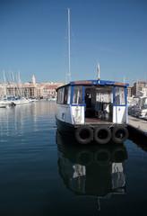 Le ferry-boat du Vieux-Port à Marseille