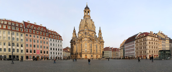 Dresden Frauenkirche in Dresden, Germany