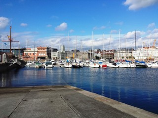 Puerto deportivo de A Coruña