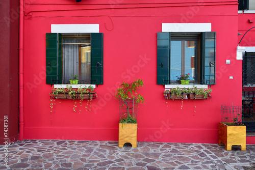 Keuken foto achterwand Venice Burano island