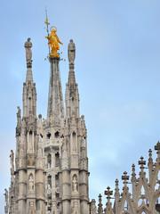 Milano Madonnina e Duomo