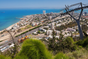 Haifa city of the carmel