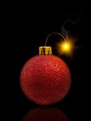 Christmas Bauble Fireworks
