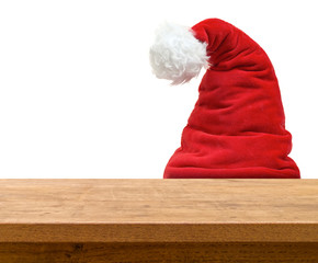 Santa Dwarf Hiding Behind Table