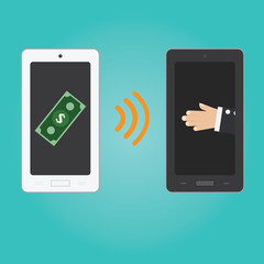 Vector of smartphone payment