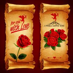 parchment LOVE