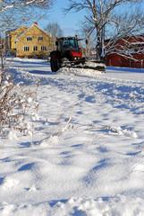Winterdienst in Schweden