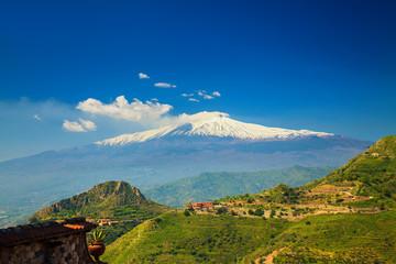 majestic volcano Etna