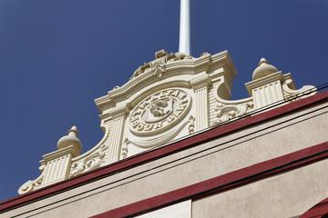 Malta Island, Marsaxlokk, the Labour Party building facade